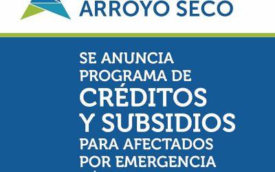 Programa de suministros para viviendas afectadas