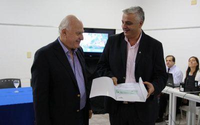 Visita del Gobernador Ing. Miguel Lifschitz