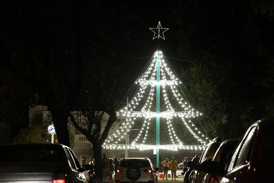 Nuevo árbol navideño en nuestra ciudad