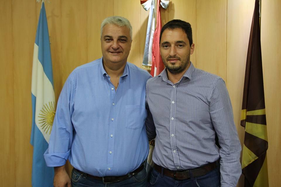 Nizar Esper mantuvo una reunión con Nicolás Mijich
