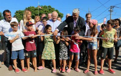 Broche de oro: Las obras del Barrio Güemes fueron oficialmente inauguradas
