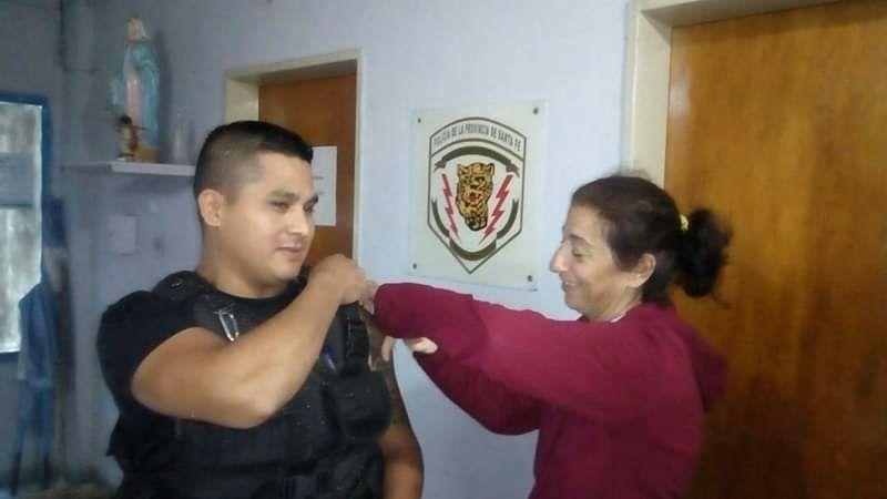 Vacunación para las fuerzas de seguridad 💉👮