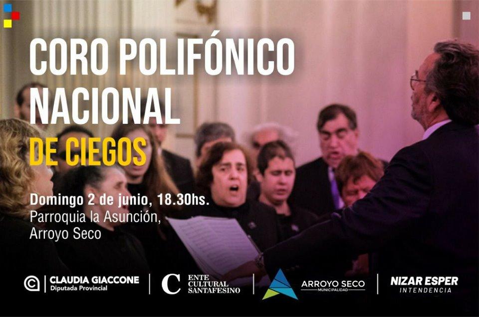 Imperdible: El coro Polifónico Nacional de Ciegos llega a la ciudad para brindar un fascinante concierto 🎶🎤👏