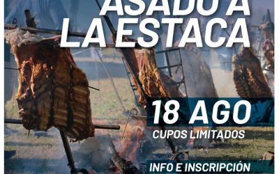 Inscripción abierta para el 3° Concurso de Asado a la Estaca en Arroyo Seco