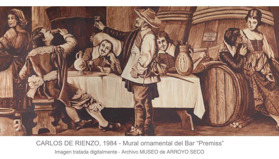 OTRA RELIQUIA PARA EL MUSEO: DONACIÓN DE UNA PINTURA EJECUTADA POR EL ARTISTA CARLOS DE RIENZO DE 1984