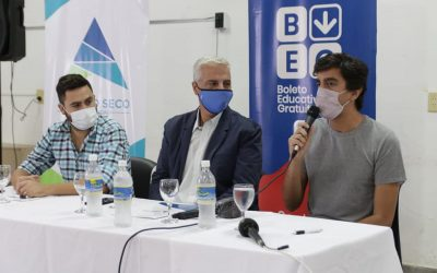 #BEG | SE PRESENTÓ EL BOLETO EDUCATIVO GRATUITO DEL GOBIERNO PROVINCIAL EN NUESTRA CIUDAD