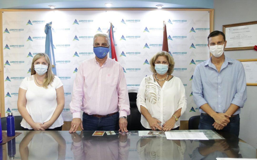 LA MINISTRA DE SALUD, SONIA MARTORANO, ARRIBÓ A ARROYO SECO PARA PLANIFICAR ACCIONES EN CONJUNTO